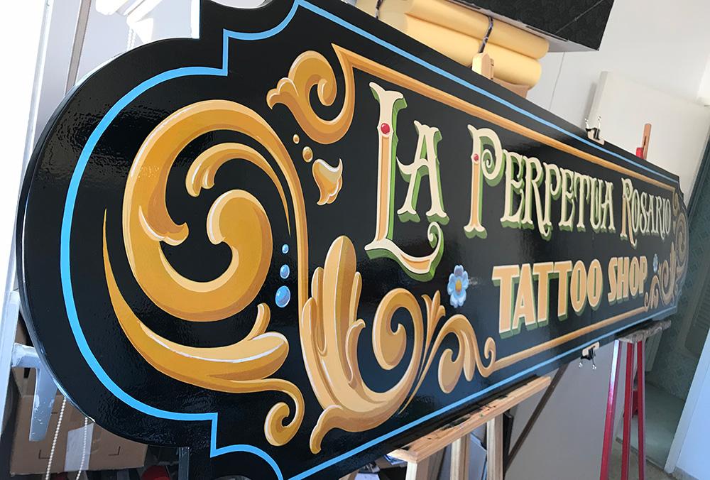 Tattoo shop Sign painter