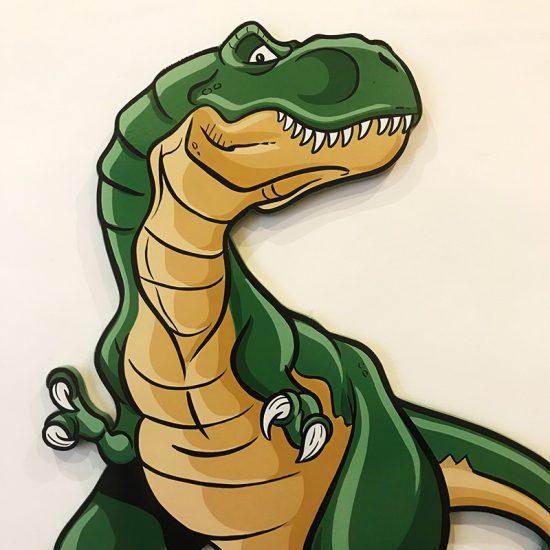 Dinosaurio-pintado-a-mano-decoracion-tarta