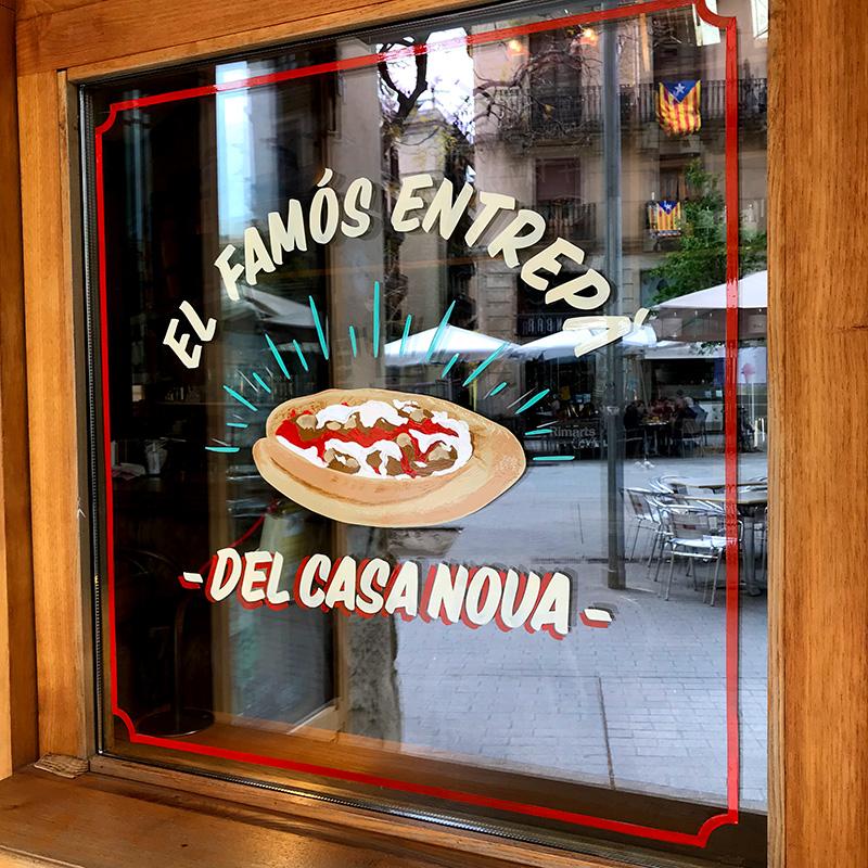 rotulacion-a-mano-cristales-restaurante-barcelona